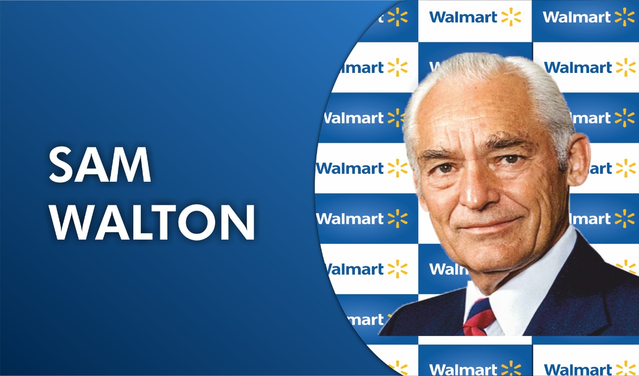 Sam Walton: An entrepreneur who began his journey at the age of 44!!