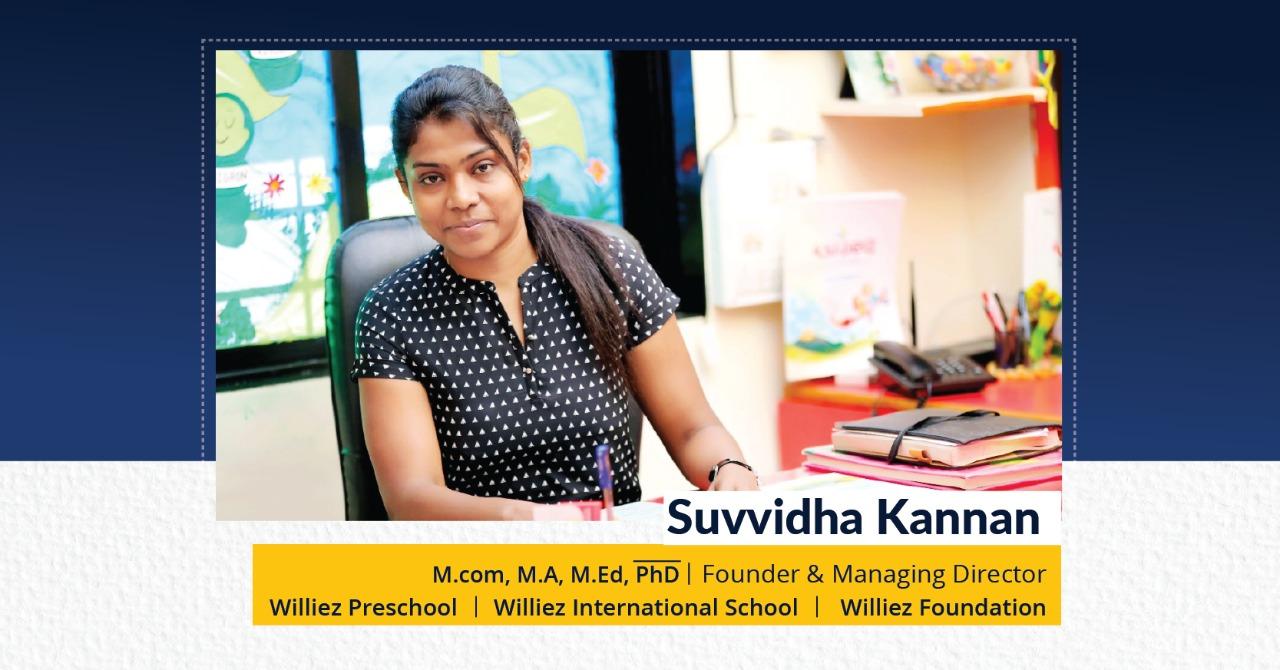 Suvvidha Kannan - The Success Today