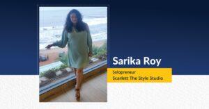 Sarika Roy Solopreneur - Scarlett The Style Studio   The Success Today   Success Today   www.thesuccesstoday.com