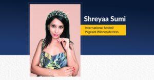 Shreyaa Sumi - International Model Pageant Winner Actress   The Success Today   Success Today   www.thesuccesstoday.com