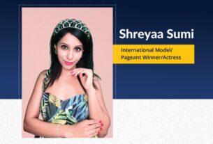 Shreyaa Sumi - International Model Pageant Winner Actress | The Success Today | Success Today | www.thesuccesstoday.com